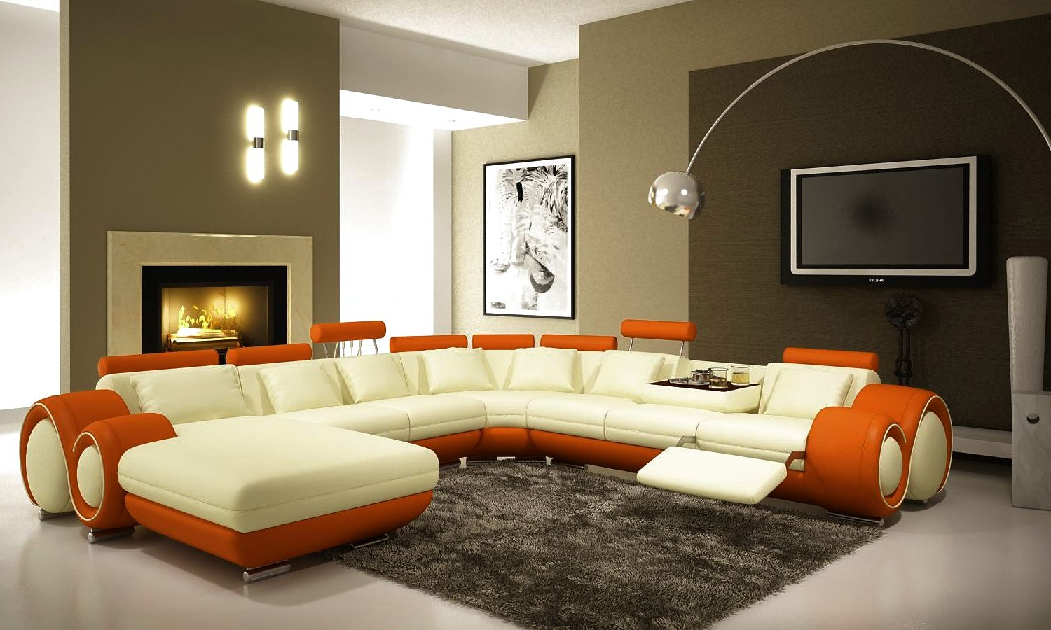 Luxury Modern Living Room Furniture